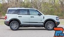 NEW! Ford Bronco Side Door Stripes BREAK ROCKER 2021+ All Models