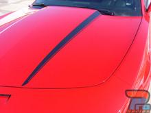 HOOD SPEARS : 2010 2011 2012 2013 2014 2015 Chevy Camaro Hood Spike Striping Vinyl Graphic Decal Set (VGP-1547)