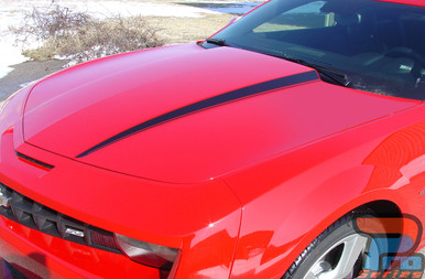 LS, LT, RS or SS Chevy Camaro Hood Stripes HOOD SPIKES 2009-2015