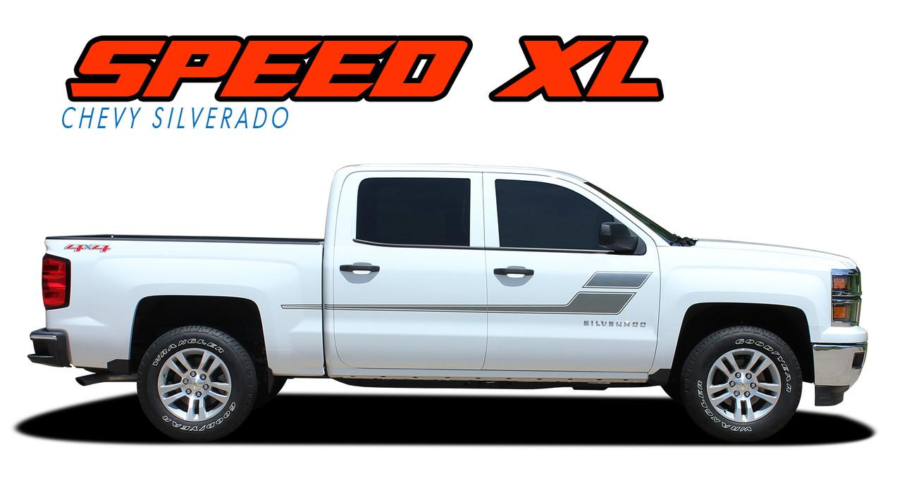 SPEED XL | Silverado Door Stripes | Silverado Decals ...