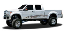 SERPENT : Automotive Vinyl Graphics - Universal Fit Decal Stripes Kit - Pictured with FORD F-150 (ILL-1211)
