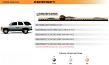 SERENGETI Universal Vinyl Graphics Decorative Striping and 3D Decal Kits by Sign Tech Media, Inc. (STM-SE)
