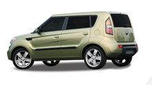 RUSH : Automotive Vinyl Graphics - Universal Fit Decal Stripes Kit - Pictured with KIA SOUL (ILL-DL01)