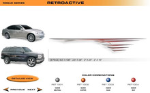 RETROACTIVE Universal Vinyl Graphics Decorative Striping and 3D Decal Kits by Sign Tech Media, Inc. (STM-RET)