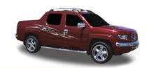 RAZORBACK : Automotive Vinyl Graphics - Universal Fit Decal Stripes Kit - Pictured with HONDA RIDGELINE (ILL-HR07)
