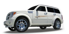 OASIS : Automotive Vinyl Graphics - Universal Fit Decal Stripes Kit - Pictured with DODGE NITRO (ILL-4761 620)