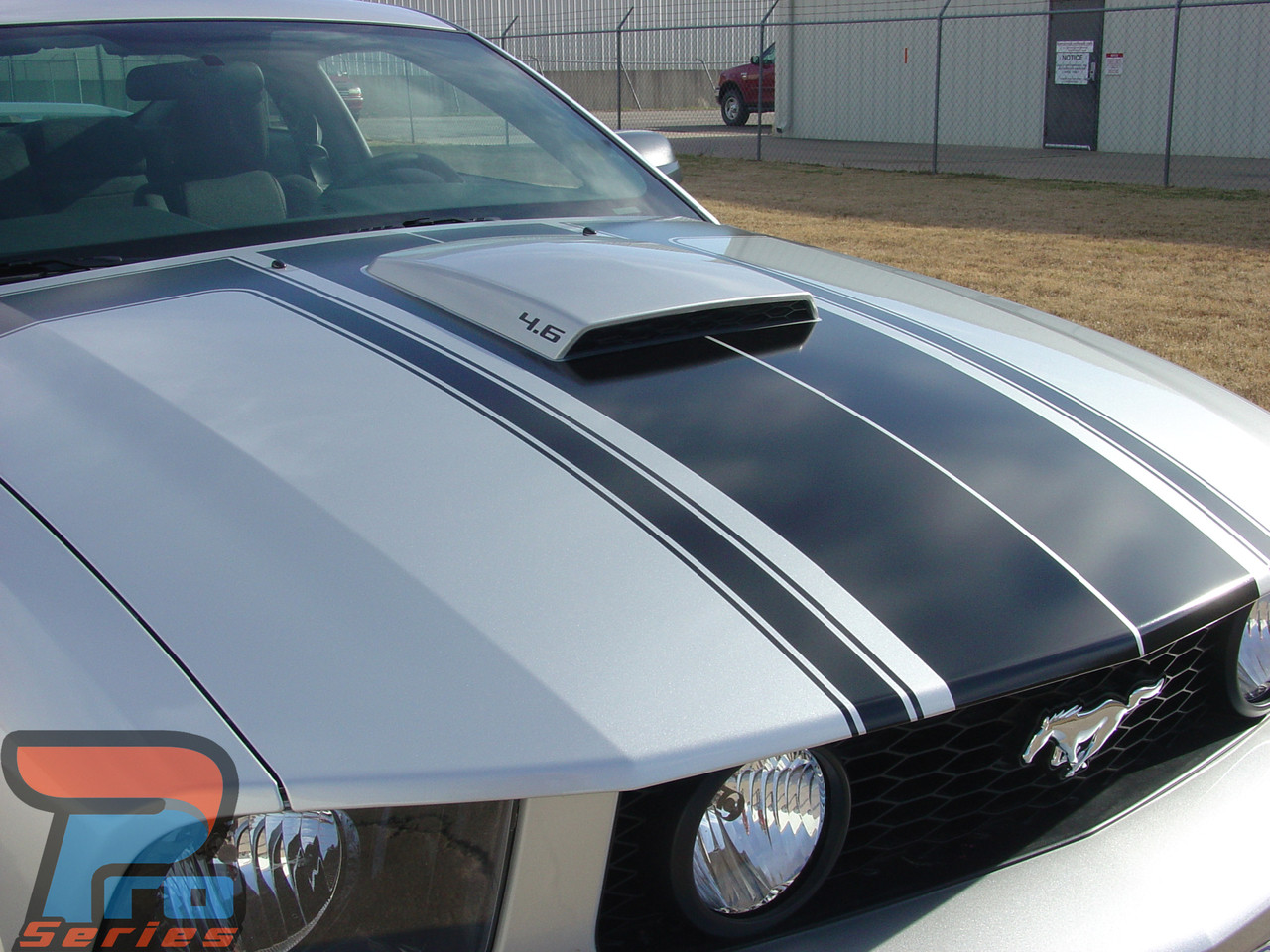 FASTBACK 2 BOSS | Ford Mustang Stripes | Mustang Decals | Mustang Vinyl Graphics