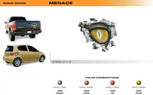 MENACE Universal Vinyl Graphics Decorative Striping and 3D Decal Kits by Sign Tech Media, Inc. (STM-MNC)