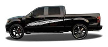 KAMIKAZE : Automotive Vinyl Graphics - Universal Fit Decal Stripes Kit - Pictured with FORD F-150 and MIDSIZE CAR (ILL-1392)