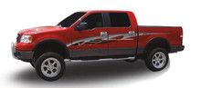 HOT ROD : Automotive Vinyl Graphics - Universal Fit Decal Stripes Kit - Pictured with FORD F-150 SERIES (ILL-1393)