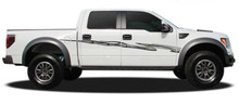 HOT FLASH : Automotive Vinyl Graphics - Universal Fit Decal Stripes Kit - Pictured with FORD F-150 (ILL-4762)