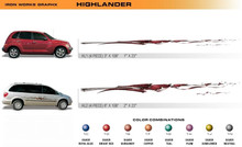 HIGHLANDER Universal Vinyl Graphics Decorative Striping and 3D Decal Kits by Sign Tech Media, Inc. (STM-HL)