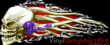 HELLION TEAR ROSE : Premium Ultra High Resolution Vinyl Graphics by Speed Graphics, Inc (SPEED-HLT-50)