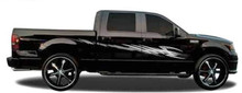 GRAPPLER : Automotive Vinyl Graphics - Universal Fit Decal Stripes Kit - Pictured with FORD F-150 and MIDSIZE CAR (ILL-1181-5602)