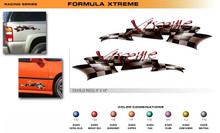 FORMULA SERIES XTREME Universal Vinyl Graphics Decorative Striping and 3D Decal Kits by Sign Tech Media, Inc. (STM-FX115)