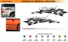 FORMULA SERIES SPECIAL EDITION Universal Vinyl Graphics Decorative Striping and 3D Decal Kits by Sign Tech Media, Inc. (STM-FX117)