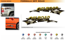 FORMULA SERIES:OFF ROAD - Premium Automotive Vinyl Graphics (STM-FX118)