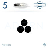 3 Outliner Needle (Strip of 5) - for ET Modul / Onix (+ Compatible Machines)