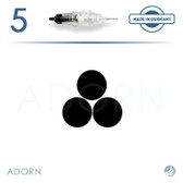 3 Power Needle (Strip of 5) - for ET Modul / Onix (+ Compatible Machines)