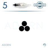 3 Micro Needle (Strip of 5) - for ET Modul / Onix (+ Compatible Machines)