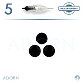3 Liner Needle (Strip of 5) - for ET Modul / Onix (+ Compatible Machines)