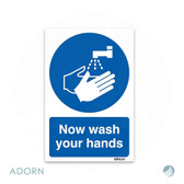 SIGN: 'Wash Your Hands'
