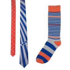 Twisting Stripes Necktie Combo