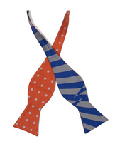Twisted Stripes Bow Tie