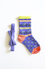 Boys Bicycle Bow Tie & Socks Combo (Ages 3-5)