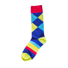 Bouncing Colors Sock