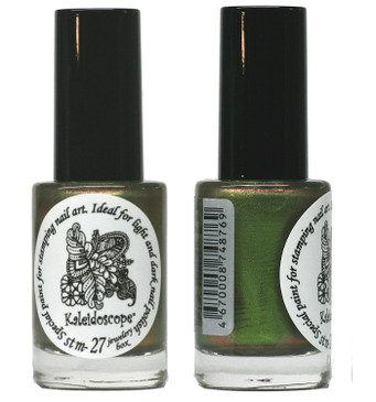 Kaleidoscope No. Stm-27 - Jewelry Box shifting Nail Stamping Polish by El Corazon, 9 ml, available at www.lanternandwren.com.