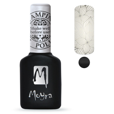 Moyra GEL FOIL Stamping Polish - Black