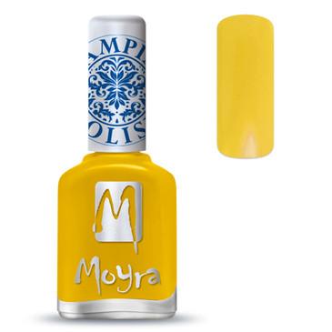 Moyra SP12 yellow nail stamping polish. Available at www.lanternandwren.com.