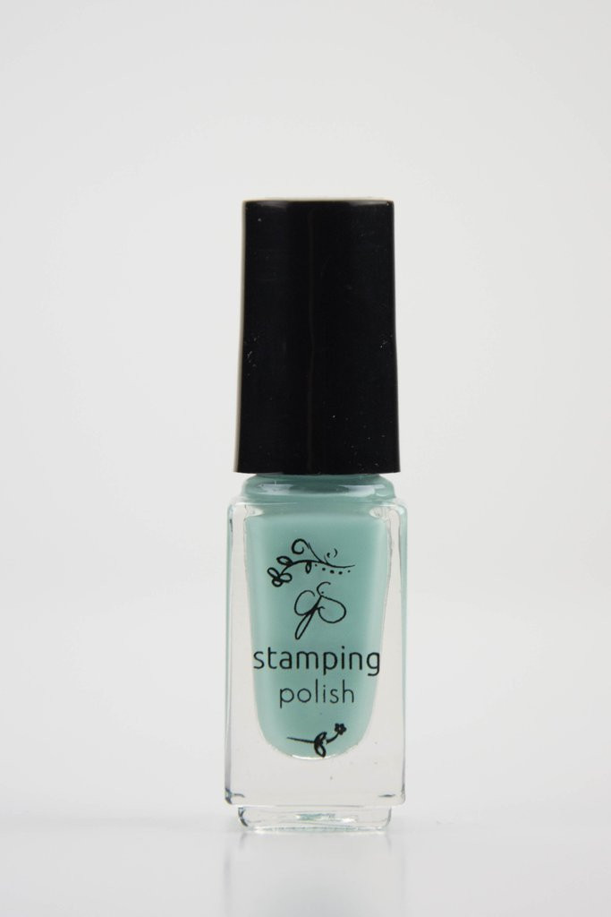 Clear Jelly Stamper stamping polish #69 April Showers, available at www.lanternandwren.com.