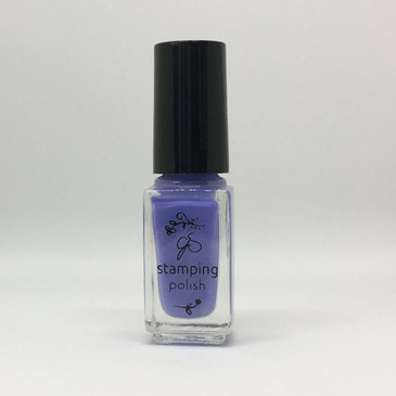 Clear Jelly Stamper stamping polish #25, Perry-Wink-le, available at www.lanternandwren.com.