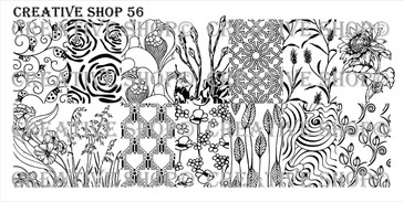Creative Shop Stamping Plate 56.  Available at www.lanternandwren.com.