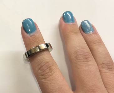 Easy Ring Rare earth magnet to create manicures with magnetic nail polish. Available exclusively at www.lanternandwren.com.