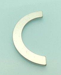 Create gorgeous nail art with this extra wide arc magnet to use with your magnetic nail polish. Free USA shipping available.