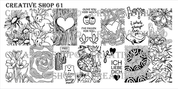 Creative Shop Stamping Plate 61.  Available at www.lanternandwren.com.
