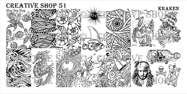 Creative Shop Stamping Plate 51. Available at www.lanternandwren.com.