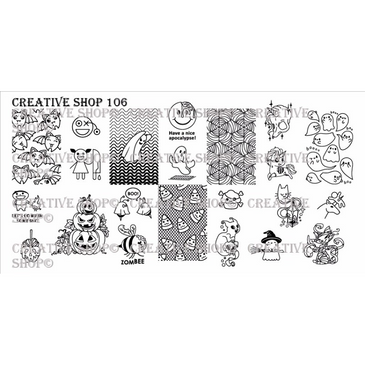 106 - Creative Shop Stamping Plate