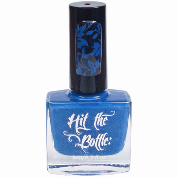 Beware the Bates Motel stamping nail polish from Hit the Bottle!  Free USA shipping available.