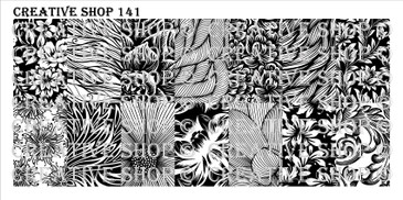 PREORDER - 141 - Creative Shop Stamping Plate