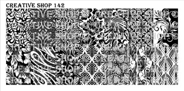 PREORDER - 142 - Creative Shop Stamping Plate