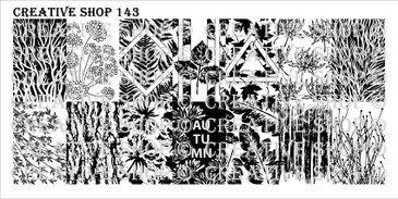 PREORDER - 143 - Creative Shop Stamping Plate