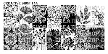 PREORDER - 144 - Creative Shop Stamping Plate