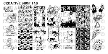 PREORDER - 148 - Creative Shop Stamping Plate