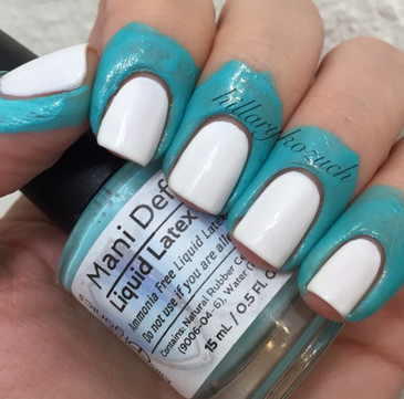 Mani Defender ® - Liquid Latex for Easy Nail Art Cleanup