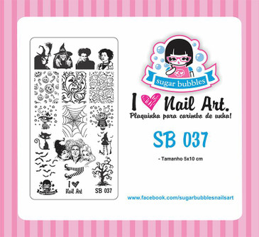 Sugar Bubbles SB037 nail stamping plate.  Available at www.lanternandwren.com.