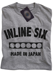 Inline 6 (Japan) T Shirt (Grey)